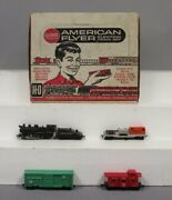 American Flyer 30710 Ho Set 31036 Erie 0-6-0 Switcher W/ 33820, 33819 And 33618