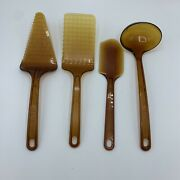 Vintage Ultratemp Utensils Robinson Knife Co Made In The Usa Lot Of 4