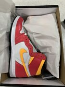 Air Jordan 1 High Light Fusion Red | Menand039s Size 10.5 | In Hand Sunday June 13th