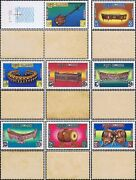 Traditional Music Instruments -not Issued / Set 01- Mnh
