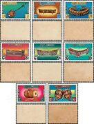 Traditional Music Instruments -not Issued / Set 06- Mnh