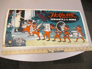 Hotpoint Devil Electric Appliance Store Sign 1920s Waffle Iron Toaster Fan Ge