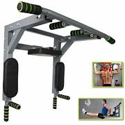 Pull Up Bar Wall Mounted Easy To Install Wall Mount Pullup Pro Jumping Rope Resi