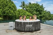 Coleman Saluspa Bahamas Airjet Inflatable Hot Tub 2-4 Person W/cover,filter Pump