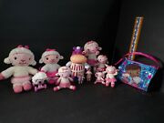 Doc Mcstuffins Pvc Toys Figures And Plush And Bag Disney Lot Of 12 Lambie And Hallie