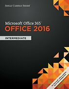 Shelly Cashman Series Microsoft�office 365 And Office 2016 I... By Vermaat, Misty