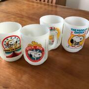 Fire King Snoopy President 1980