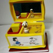 Jewelry Box With Snoopy Music Made In Japan