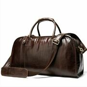 Fashion Men Leather Travel Bags Hand Luggage Male Suitcase Travel Duffle Big Bag