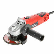 Brand New Hyper Tough 6 Amp Corded Angle Grinder W/ Handle And Guard 4-1/2 Inch