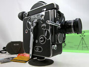 Working Bolex Rx Reflex 16mm Movie Camera Outfit With Lens And Instructions
