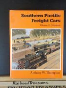 Southern Pacific Freight Cars Vol 2 Cabooses By Anthony W Thompson W/ Dustjacket