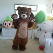 Bear Mascot Costume Fancy Dress Party Clothing Adult Cartoon Suits Furry Outfit