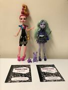 Monster High Gigi Grant Twyla First Wave 13 Wishes Complete