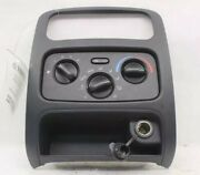 2002 2007 Jeep Liberty Heater Ac Controller And Bezel P55037533ad Oem Free Ship