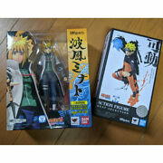 Made By Bandai S.h. Figures Naruto Galedn Wave Wind Minato Yingma Best Selection