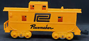 Marx Pacemaker Yellow Caboose. O Gauge Model Train - Vintage -usa