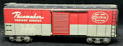 Marx 174580 Nyc New York Central Pacemaker Box Car Andndash Tin Litho Andndash O Scale Usa