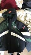 Supreme X Nike Sport Jacket Ss19 Green/black Xl New With Detached Tags.