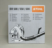 New Stihl 64.8cc 2-cycle Gas Backpack Blower Br 600