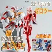 S.h. Figuarts Darling In The Franxx Zero Two And Robot Soul Strelitzia 2 Types Set
