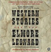 The Complete Western Stories Of Elmore Leonard Cd By Leonard, Elmore Book The