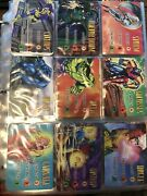 Fleer Marvel Overpower Powersurge Mission Control Card Sets/lot 1995 1000+cards