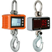 Digital Crane Scales Hanging Scale 2200lbshigh Precisionaluminum Yellow/silver