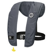 Mustang Mit 100 Inflatable Manual Pfd - Admiral Gray