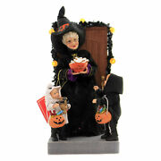 Possible Dreams Boo Polyresin Halloween Witch Trick Or Treat 6006454