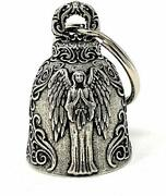 Angel Motorcycle Biker Bell Accessory Or Key Chain For Luck