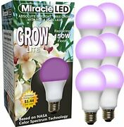 604892 Miracle Led Max Blue Grow Light 6 6 Pack Red And Blue Spectrum 150w