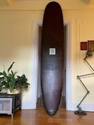 Beautiful 9and0390 Longboard Surfboard By Canvas Surfboards