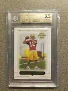 2005 Topps 431 Aaron Rodgers Rookie Football Card Packers Bgs 9.5