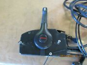 Good Oem Mercury Quicksilver Control Box With Trim 9 Ft. Cables 14 Pin Harness