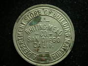 San Diego Ca Whiting Mead Co. 10andcent Token