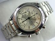 Omega Speedmaster Date Chronograph - Silver Dial - 2001 - Card