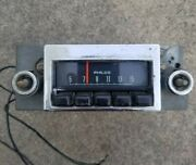 Vintage Ford Philco Oem Push Button Am Radio Ed-d00a-18806-c Missing Two Knobs