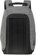 Jauch Solar Backpack London 40 Anti Theft   10w Integrated Solar Panel With 5v U