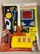 Vintage 1960and039s Little Play Doctor Kit Transogram Set Old Store Stock Candy Hypo
