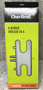 """Char-broil Grill H Burner W Tubes Model 6254 Replacement Universal 7"""" X 17.75"""""""