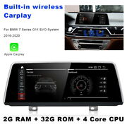 Android Car Gps Stereo Multimedia Carplay For Bmw 7 Series G11 2016-2020 Evo