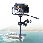 4 Stroke 225cc Outboard Motor Fishing Boat Engine With Air Cooling System 9hp Us