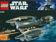 Instruction Manual Only For Lego Star Wars General Grievous Set 8095 Only