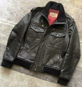 Avirex Horse Leather Single Riders Jacket Leather Jacket F/s From Japan