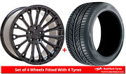 Alloy Wheels And Tyres 20 Velare Vlr12 For Lexus Ls 460 [mk4] 06-17