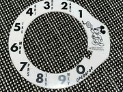 Vintage Mickey Mouse 16mm Film Rotary Phone Dial Cover Walt Disney Productions