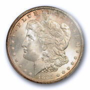 1885 Cc 1 Morgan Dollar Pcgs Ms 64 Uncirculated Cac Approved Carson City Min...
