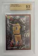 1996-97 Topps Finest 74 Kobe Bryant Rookie Rc Bgs 9.5 Gem Mint Lakers