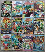 The Mighty Crusaders Archie/red Circle 1983-1985 1-12 Fn/vf Average